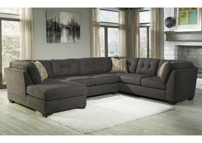 Underpriced Furniture Delta City Steel Sectional