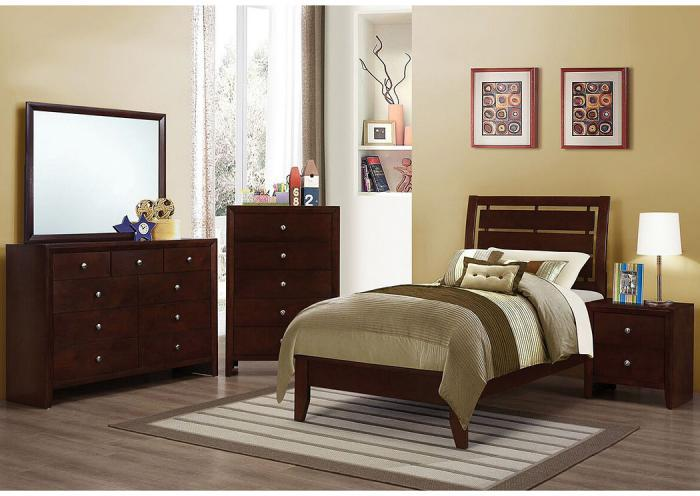 Serenity Twin Bedroom Set,COAUM