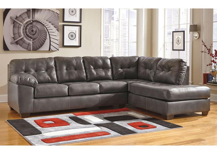 Alliston Gray Sectional,ASHUM