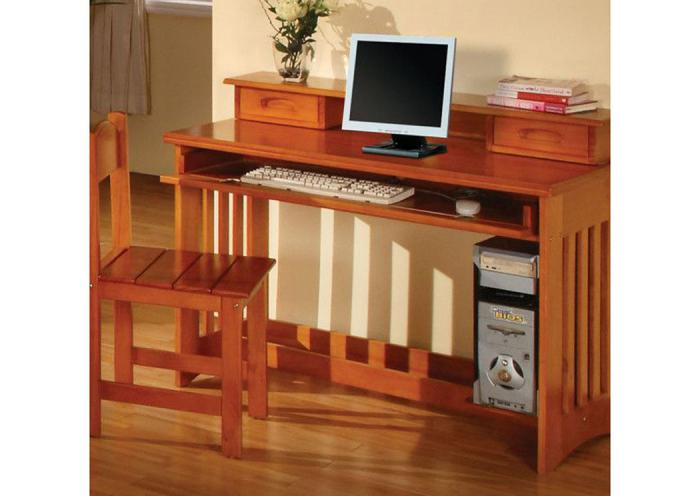 Honey Student Desk 3PC Set,DWFUM