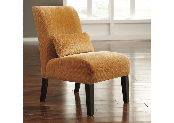 Annora Orange Accent Chair,ASHUM