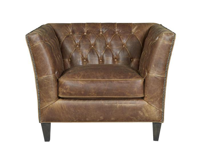 Duncan Leather Chair,UNIUM