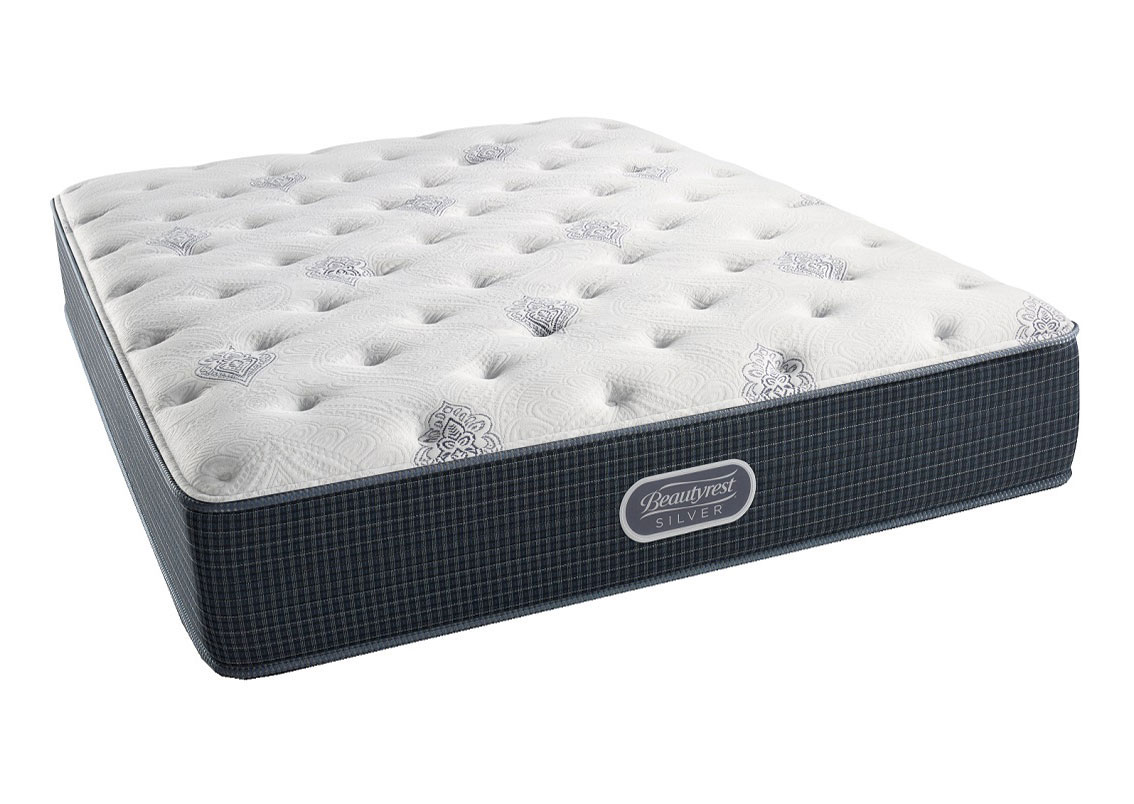 Beautyrest Silver Openseas Plush King Mattress,SIMUM