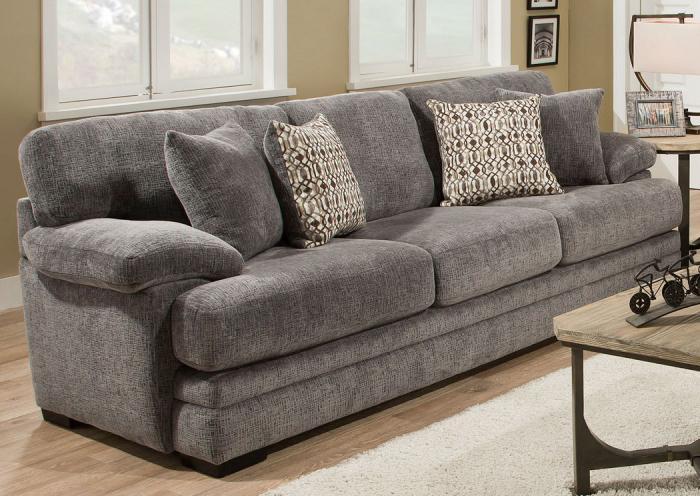 Attrayant Beaverton Grey Sofa,ALIUM