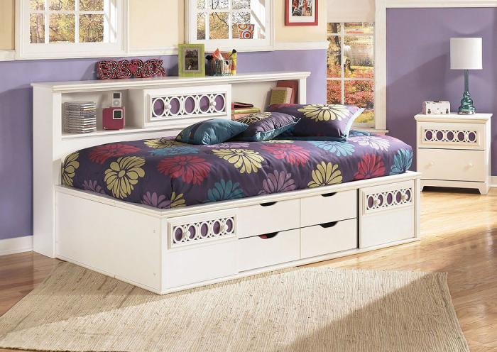Zayley Twin Bookcase Bed,ASHUM