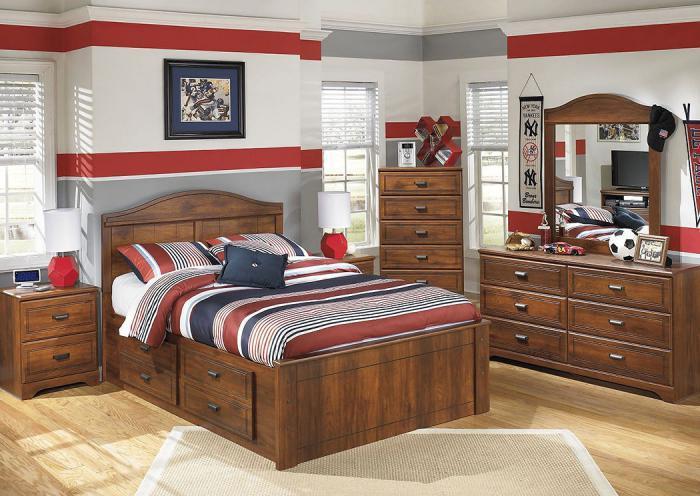 Underpriced Furniture Barchan Full Storage Bedroom Set