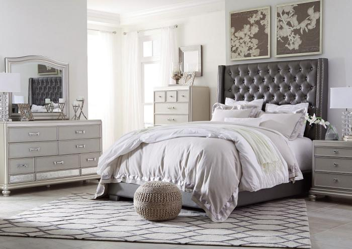 Coralayne King Bedroom Set,ASHUM