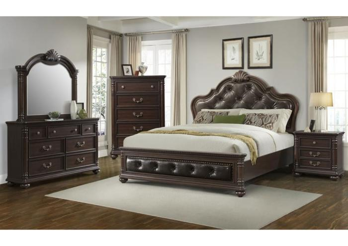 Underpriced Furniture Classic King Bedroom Set