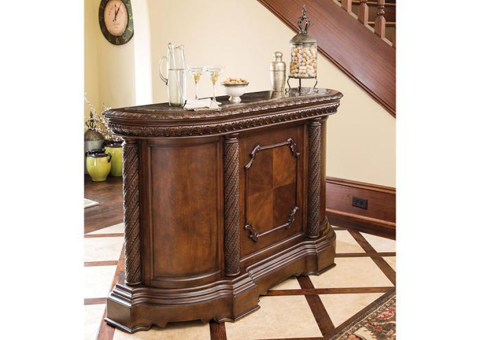 North Shore Marble Top Bar,ASHUM