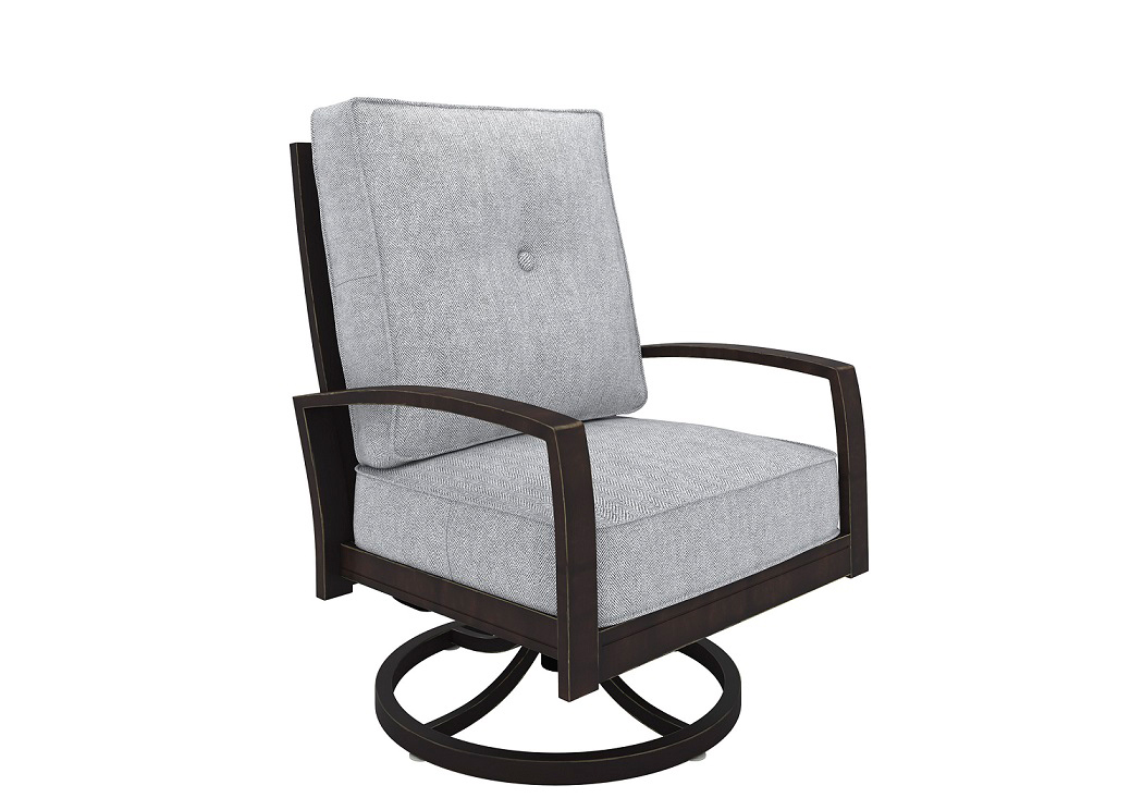 Castle Island Swivel Lounge Chair,ASHUM