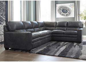 Gleason Charcoal Sectional
