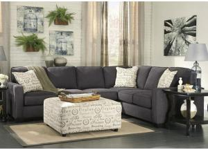 Alenya Charcoal 3-pc Sectional