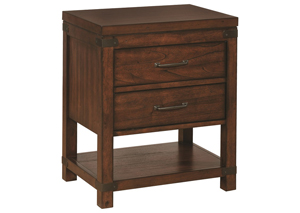 Artesia 2 Drawer Nightstand,COAUM