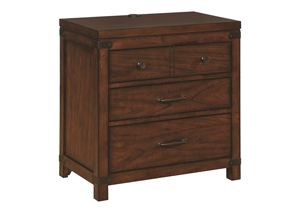 Artesia 3 Drawer Nightstand