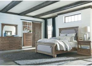 Rustic Smoke King Bedroom Set