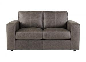 Trembolt Smoke Leather Loveseat