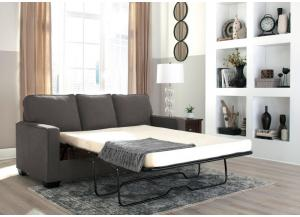 Zeth Charcoal Full Sleeper Sofa