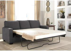 Zeth Charcoal Queen Sleeper Sofa