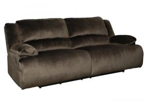 Clonmel Chocolate Reclining Sofa