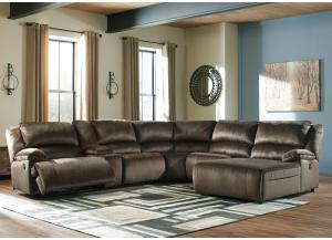 Clonmel Chocolate Sectional