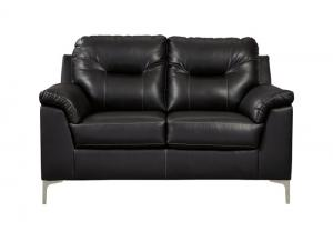 Tensas Black Loveseat