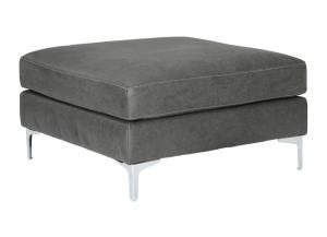 Ryler Charcoal Cocktail Ottoman