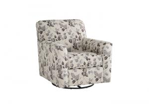 Abney Driftwood Swivel Chair
