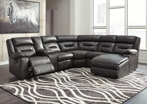 Coahoma Dark Gray Sectional