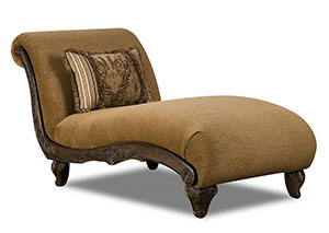 Broadway Cocoa Chaise