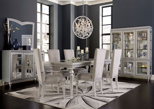 Melrose Plaza Dining Set