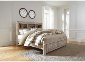 Willabry King Bookcase Bed
