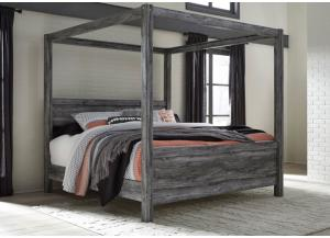 Baystorm King Canopy Bed