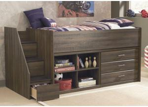 Juararo Loft Storage Twin Bed