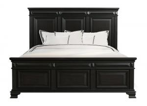 Calloway Black Queen Bed,EIGUM