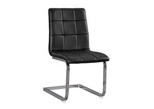 Madanere Black Side Chair,ASHUM