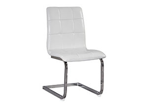 Madanere White Side Chair