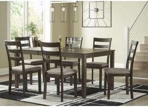 Drewing Table & 6 Chairs,ASHUM