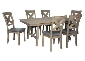 Aldwin Table & 6 Chairs
