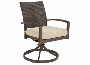 Moresdale Swivel Rocking Chair,ASHUM