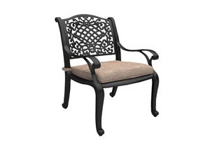 Rose View Arm Chair