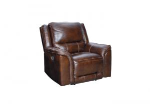 Catanzaro Leather Power Headrest Recliner