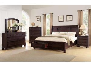 Queen bed frame Dresser & Mirror