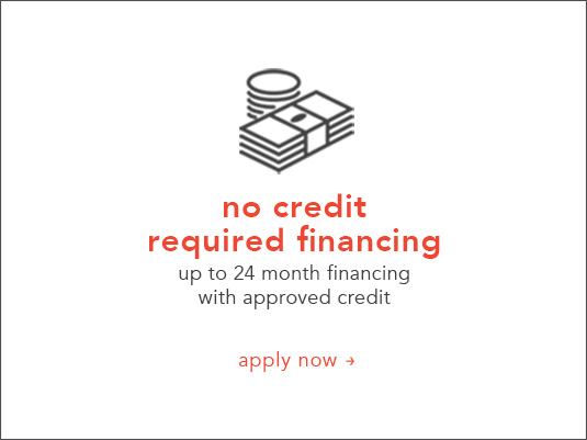 No Credit Required Financing