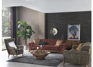 Image for Arya Modern Chesterfield Sofa by Muse Design