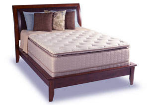 Dream Devotion Pillow Top Twin Mattress w/ Foundation