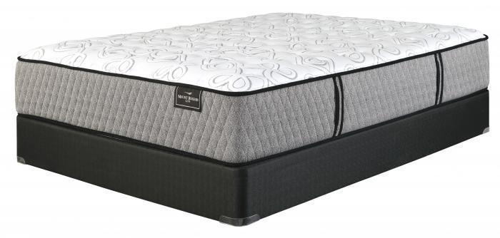 <Mt. Rogers Limited Firm White King Mattress + 2 FREE Memory Foam Pillows