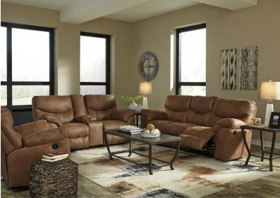 Boxberg Bark Reclining Sofa and Loveseat + FREE $100 Prepaid Mastercard
