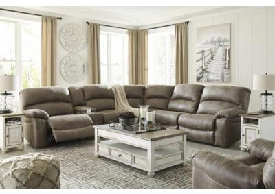 Segburg Power Reclining Sectional + FREE $100 Prepaid Mastercard