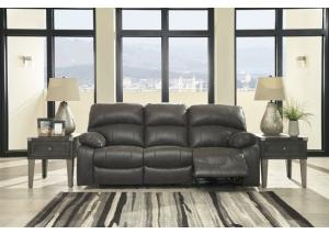 Dunwell Steel Power Recliner Sofa w/Adjustable Headrest