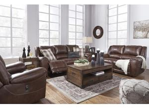 Persiphone Canyon Reclining Sofa & Loveseat + FREE Recliner & FREE 15 ft Pool